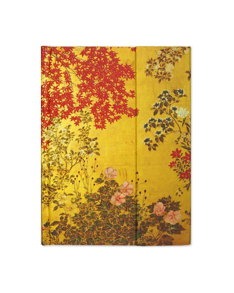 Japanese Screen Gilded Journal