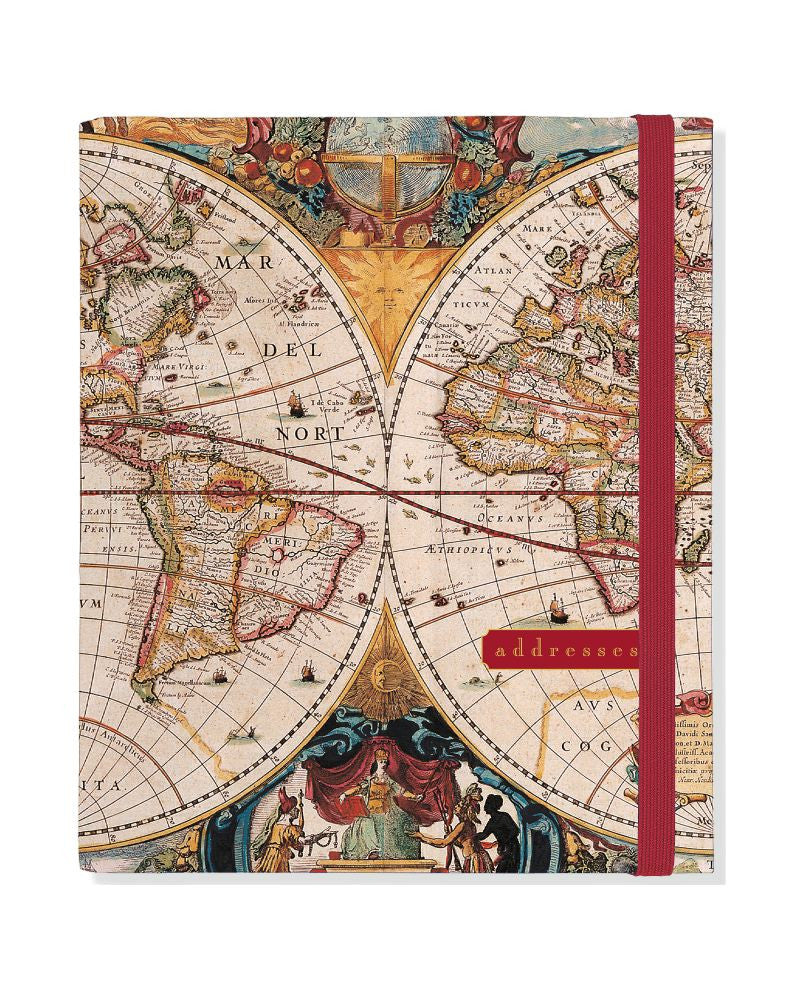 Old World Address Book