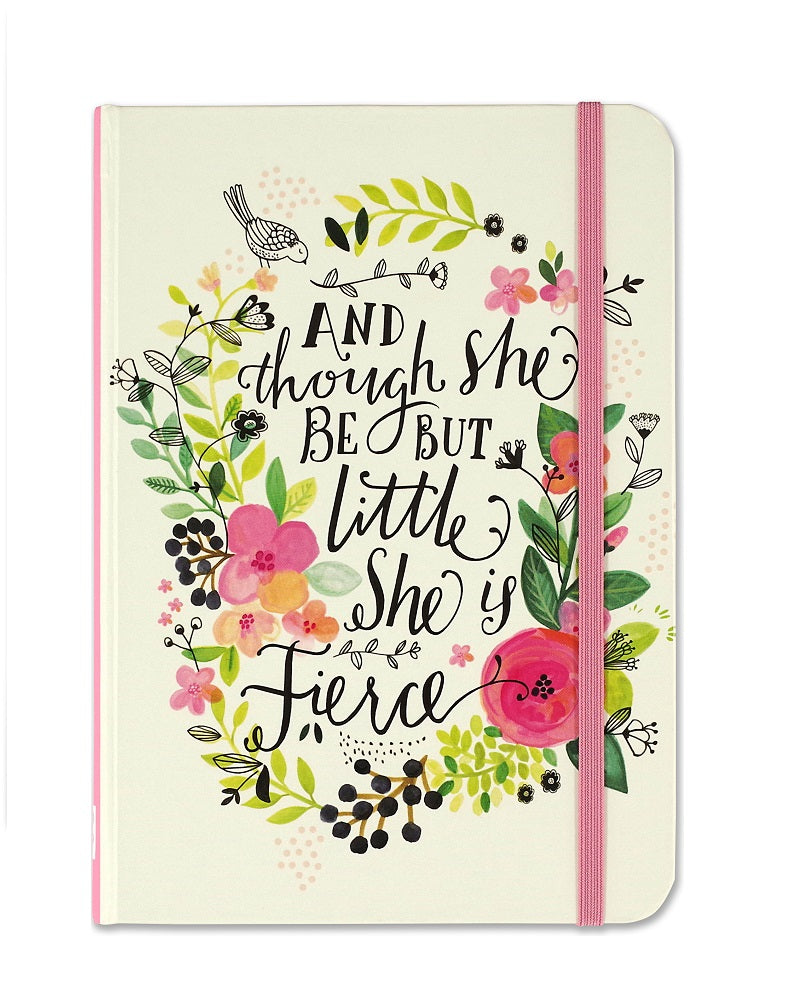 Though She May Be Small, She Is Fierce Small Journal