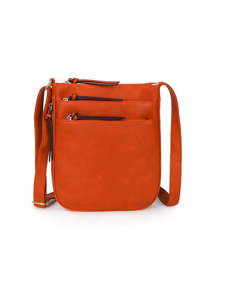 Zip Shoulder Book Bag