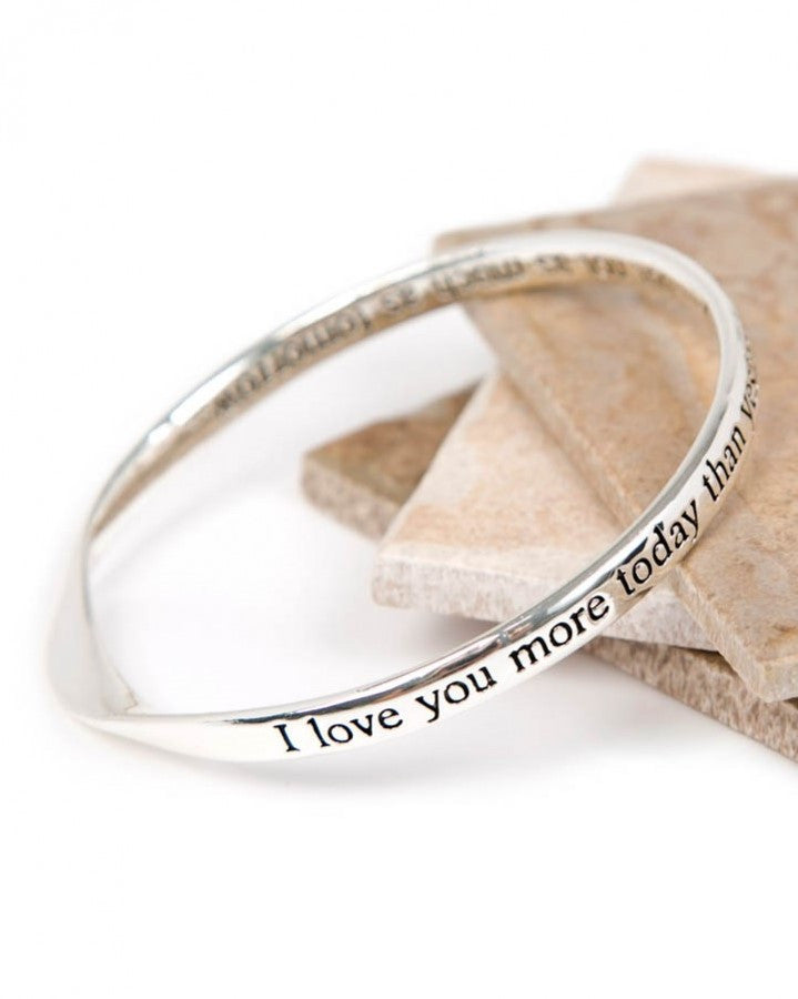 Today, Yesterday Message Bangle