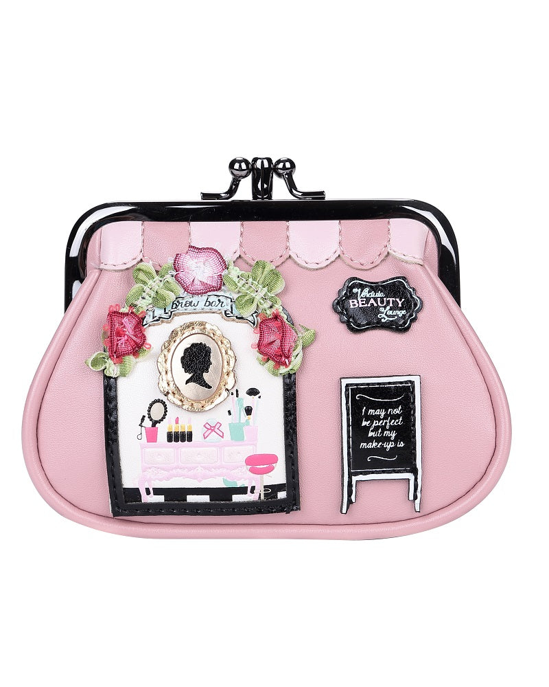 fe3261143f1 Beauty Lounge Clipper Coin Purse By Vendula – Pink Poodle Boutique