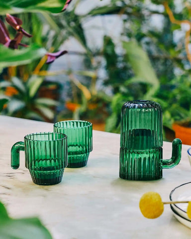 Saguaro Cactus Coffee Glasses