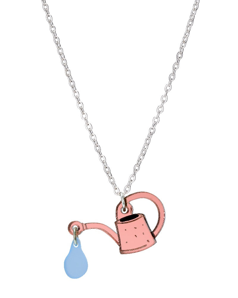 Mini Watering Can Necklace