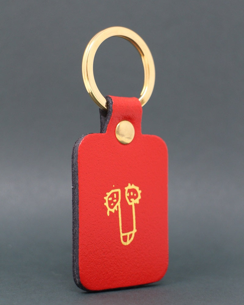 ARK Leather Willy Keyring
