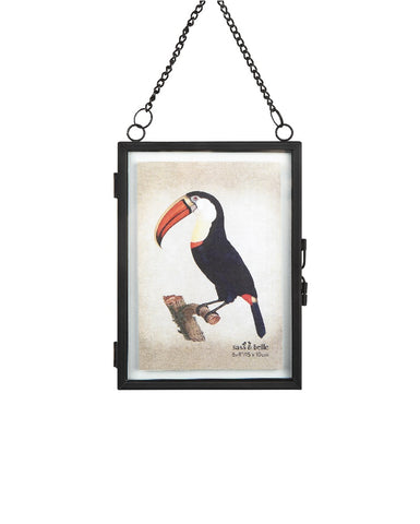 Monochrome Portrait Hanging Photo Frame