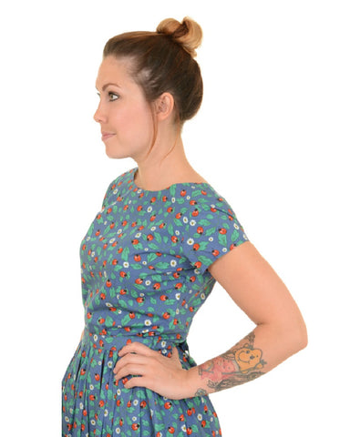 Ladybird Printed Tea Dress