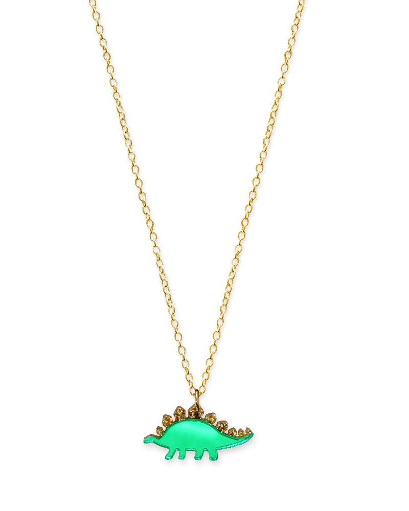 childrens pendant curb necklace a pendants stegosaurus and coins silver gb on dinosaur sterling