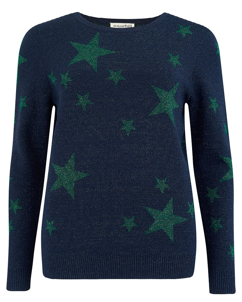 Rita Shimmering Star Sweater