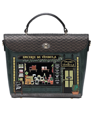 Epicerie Backpack Handbag By Vendula