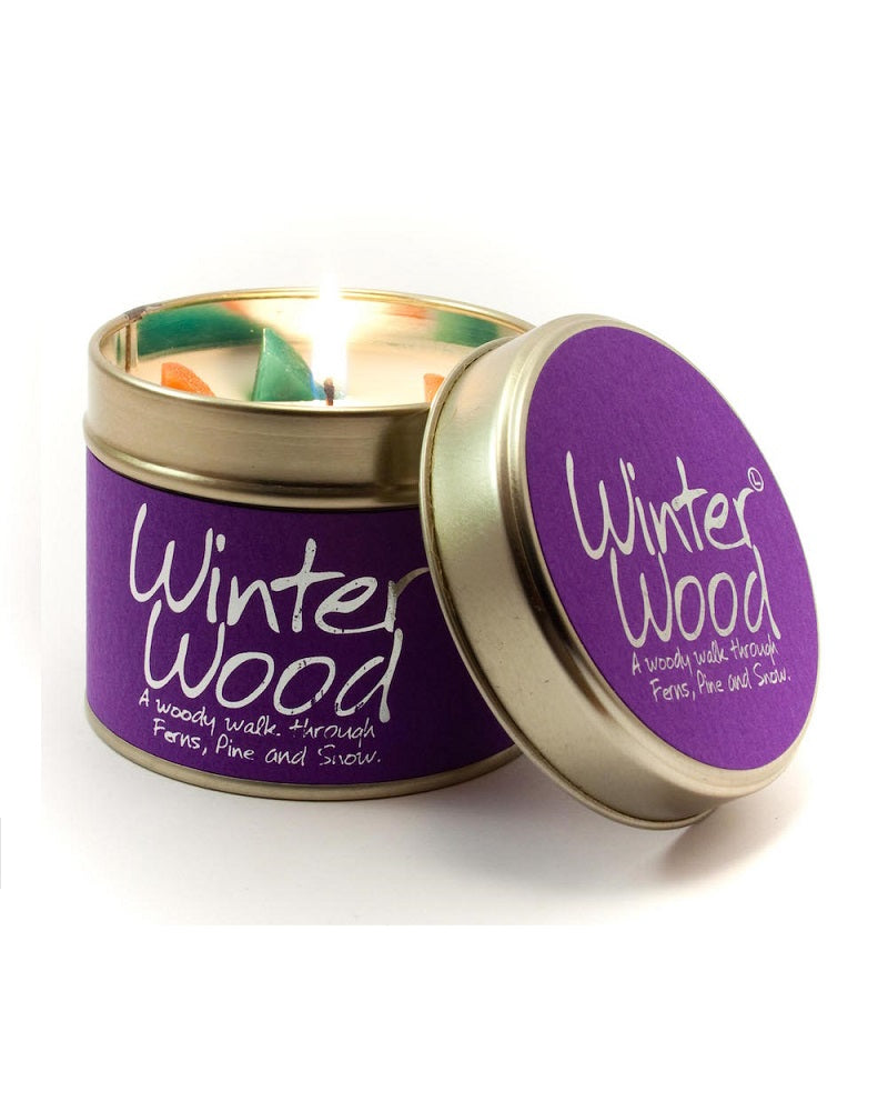 Winter Wood Tin Scented Candle