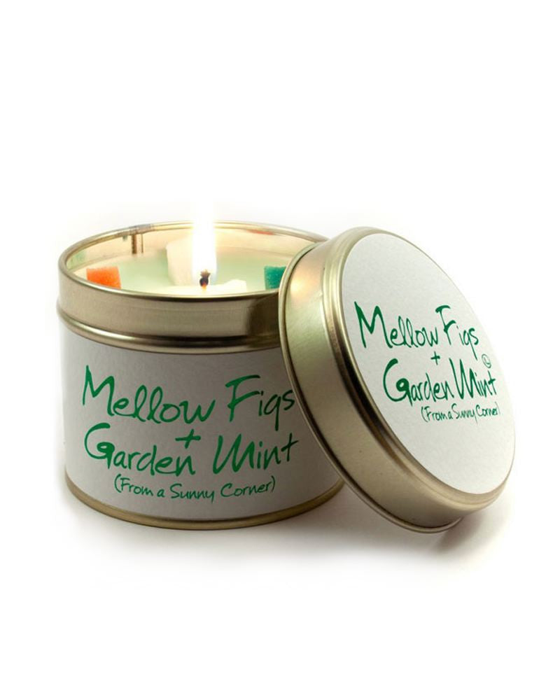 Mellow Figs and Mint Tin Scented Candle