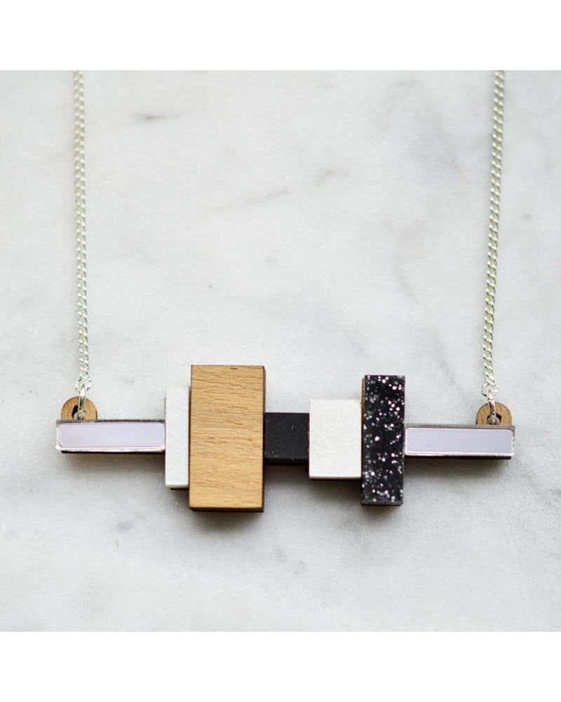 Block And Shadow Necklace