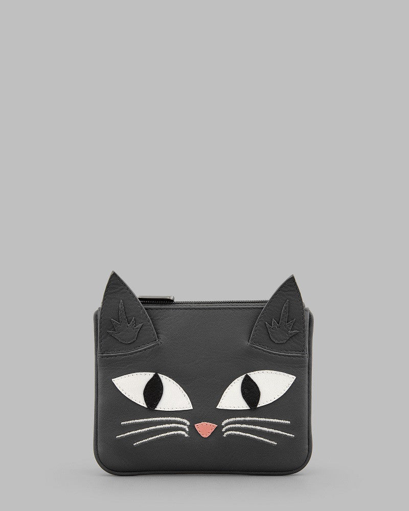 Misty Cat Zip Coin Purse