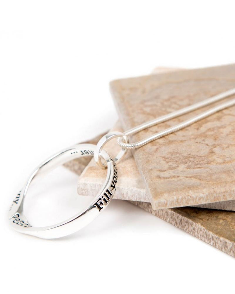 Joy Harmony Message Necklace