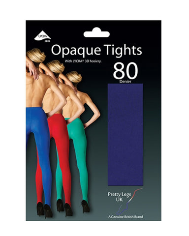 80 Denier 3D OPaque Tights Assorted