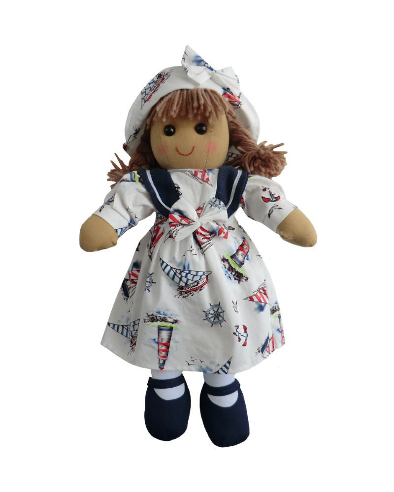 Sailor Girl Rag Doll