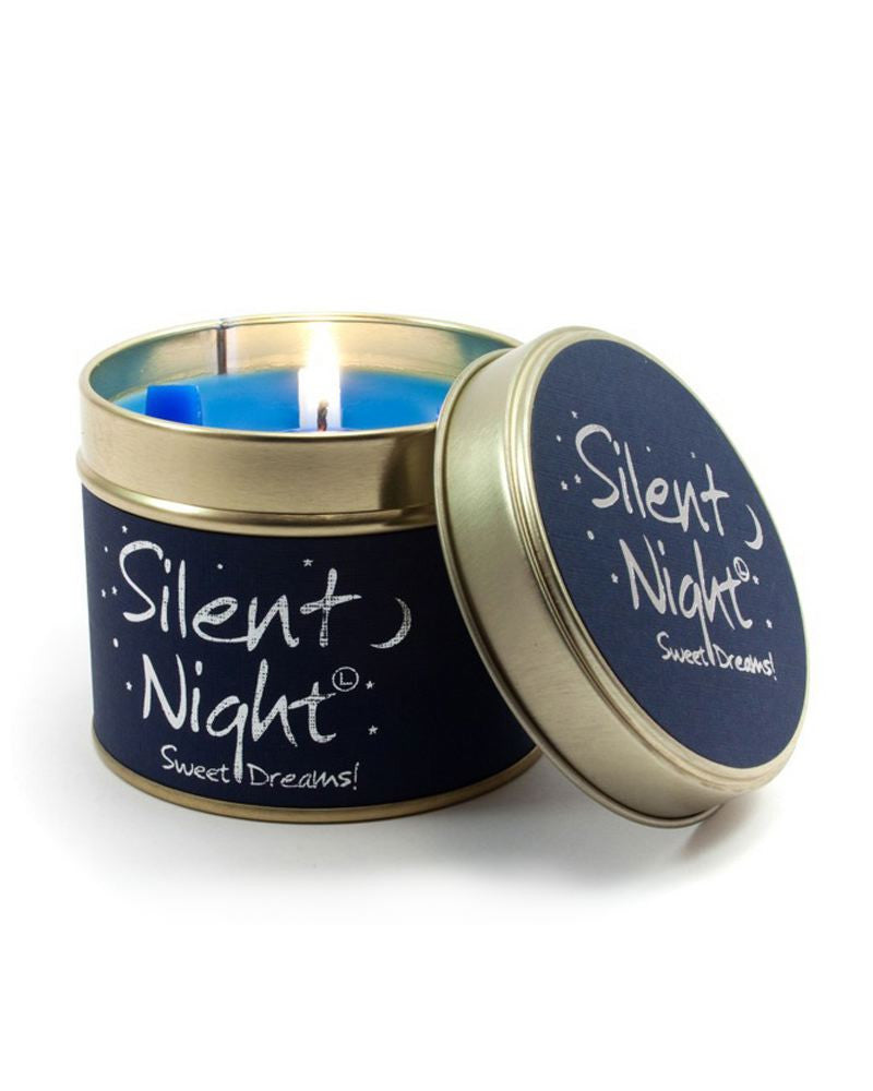 Silent Night Tin Scented Candle