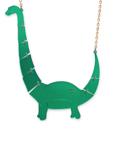 Jurassica Large Apatosaurus Necklace