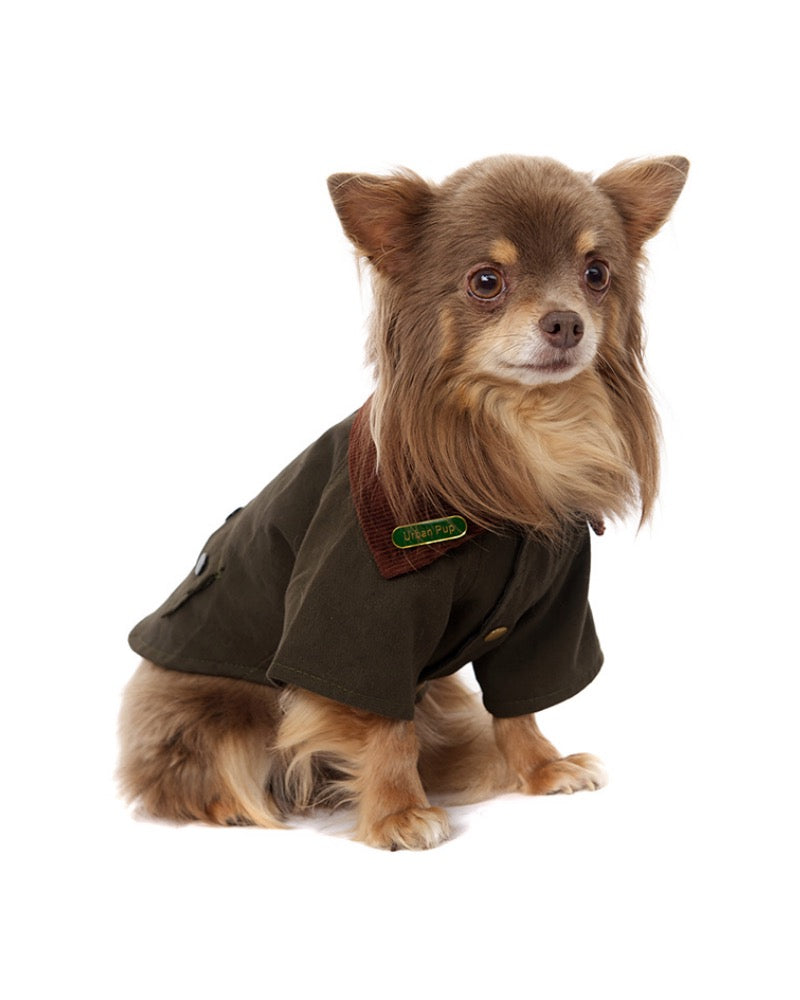Dog Coat Woodland Country Jacket
