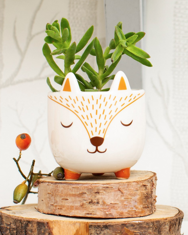 Mini Fox Planter