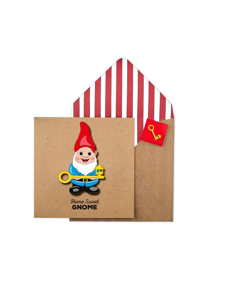 Home Sweet Gnome Greetings Card