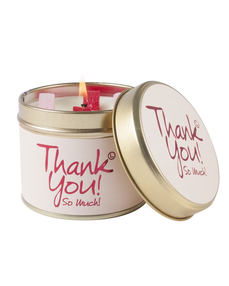 Thank You! Tin Scented Candle