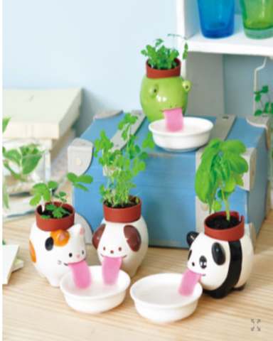 Peropon Animal Planter