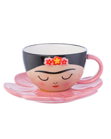 Frida Boho Fiesta Cup And Saucer Set