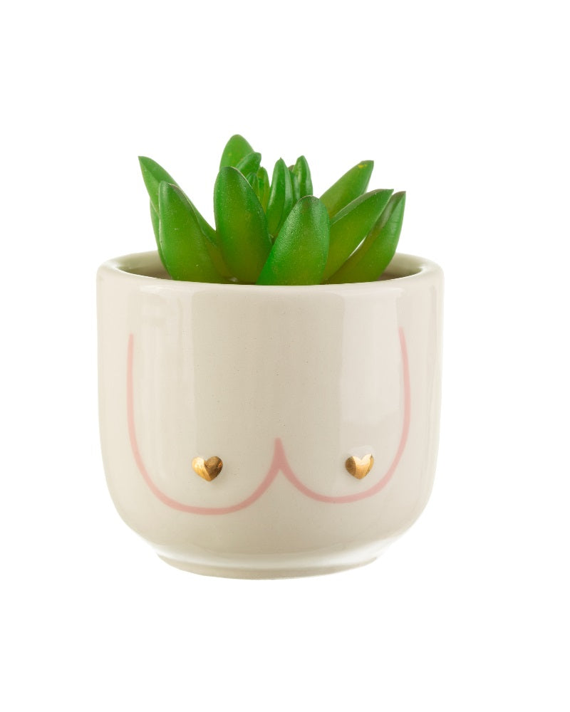 Girl Power Boobs Planter