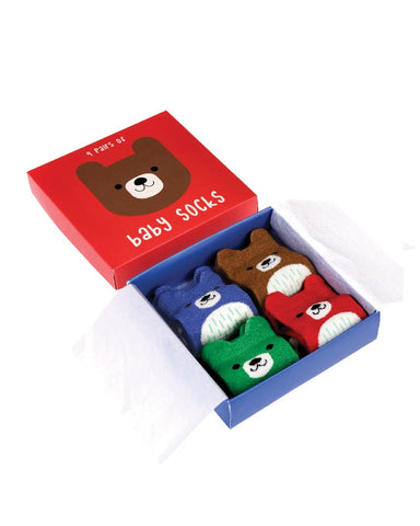 Bear Baby Socks Pack Of 4