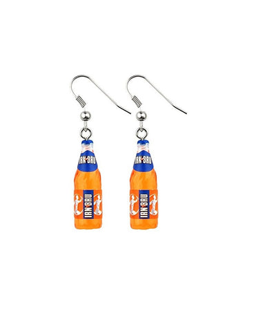 Irn Bru Bottle Earrings