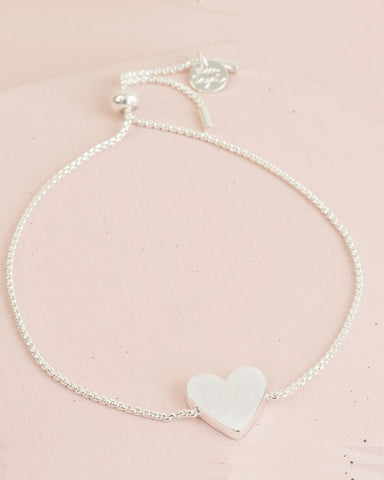 Box Chain Heart Bracelet Assorted