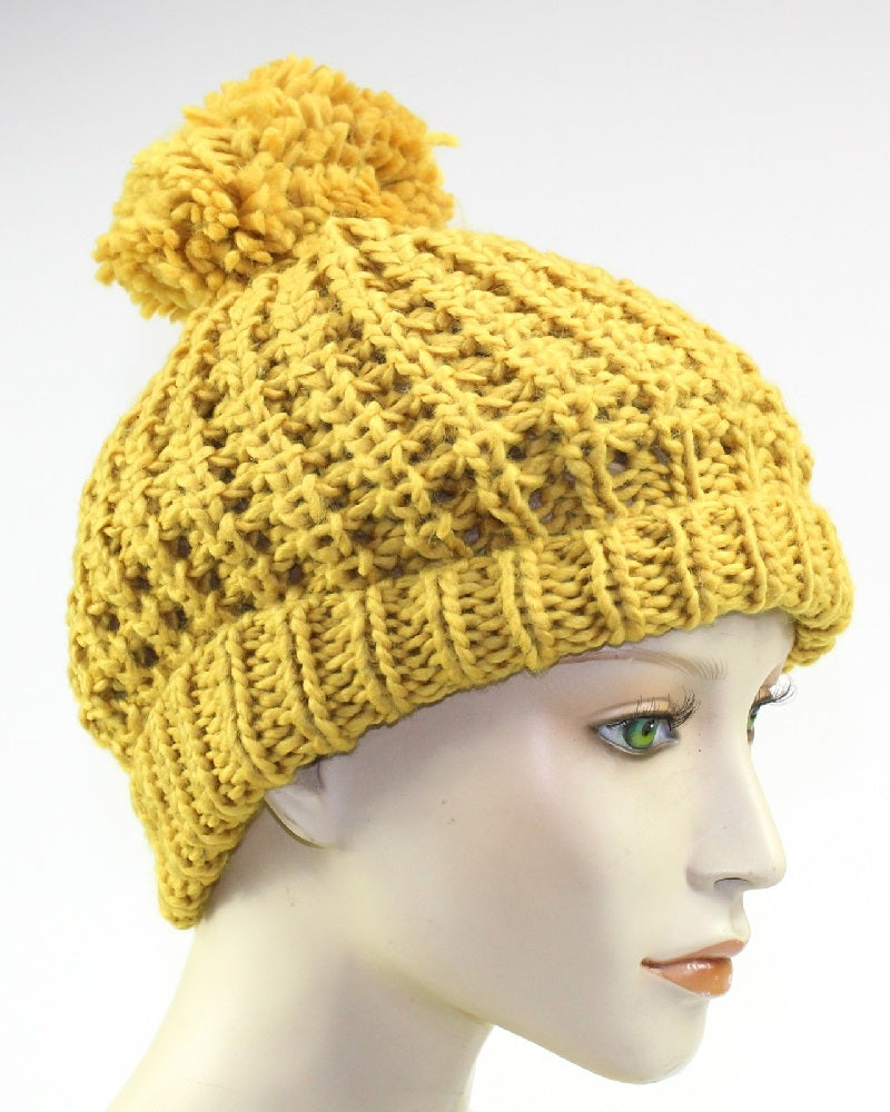 Lumi Knitted Beanie Hat Assorted