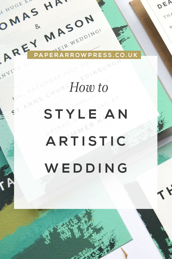 How to Style an Artistic Wedding