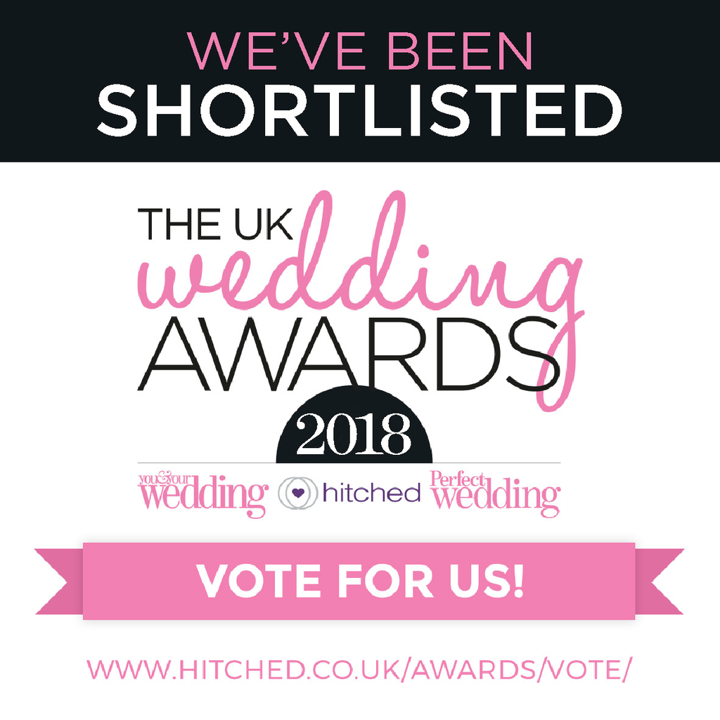Paper Arrow Press is shortlisted in UK Wedding Awards