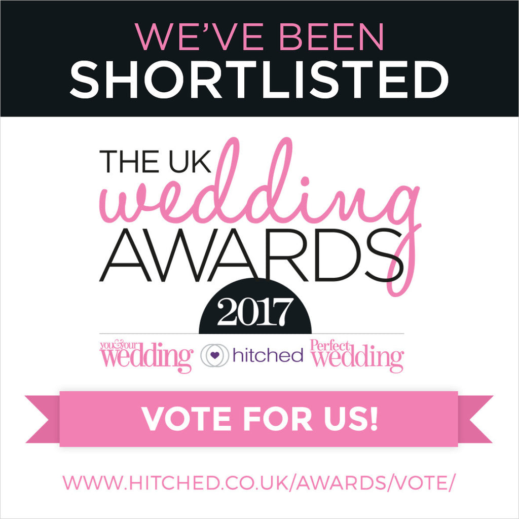 Shortlisted: Best Wedding Stationer, UK Wedding Awards