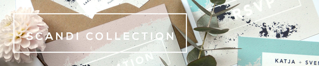 Personalised Wedding Stationery Collection | Scandi