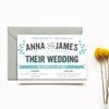 Personalised Wedding Invitation | Bourbon