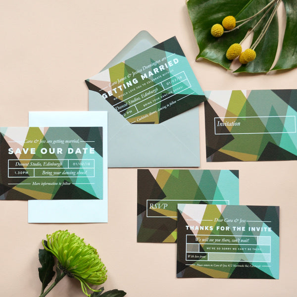 Modern Wedding Invitation Samples | Canopy