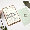 Festoon | Modern Traditional Wedding Invitation Sample Pack