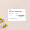 Personalised Wedding Invitation Package | Gin