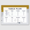Personalised Wedding Table Plan | Scandi