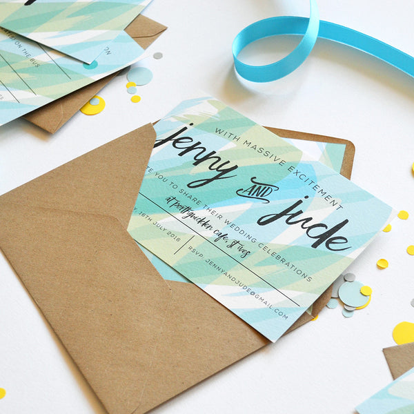 Seasalt | Beach Wedding Invitation Sample Pack