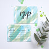 Modern Wedding RSVP | Seasalt Personalised wedding stationery