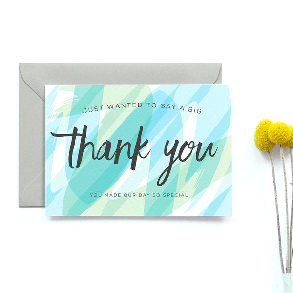 Personalised Wedding Thank you Card | Seasalt
