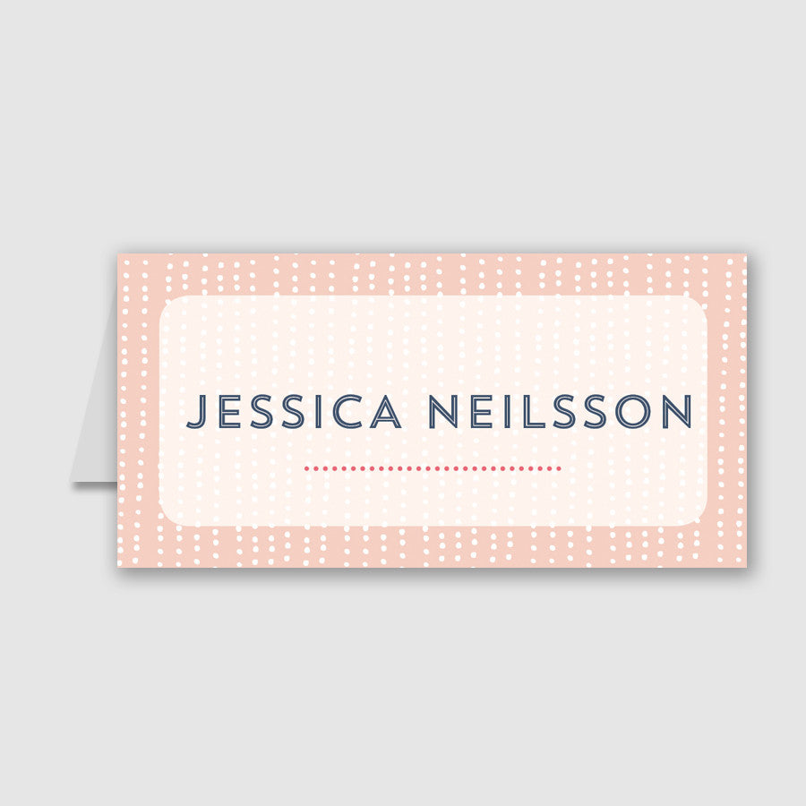 Personalised Wedding Place Cards | Sequin