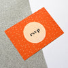 Modern RSVP Card | Space Wedding Stationery Collection