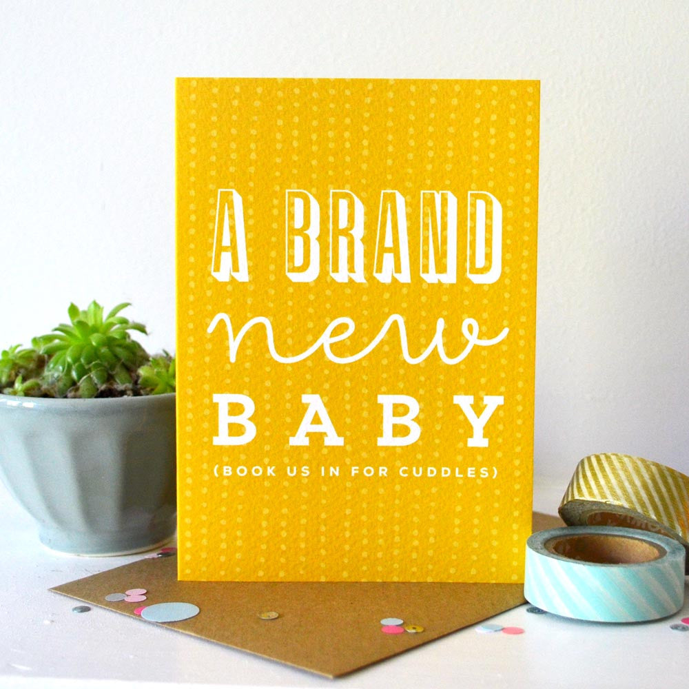 Sprinkle New Baby Greetings Card