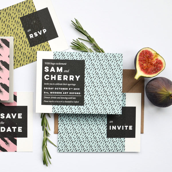 Personalised Wedding Invitation Package | Tribe